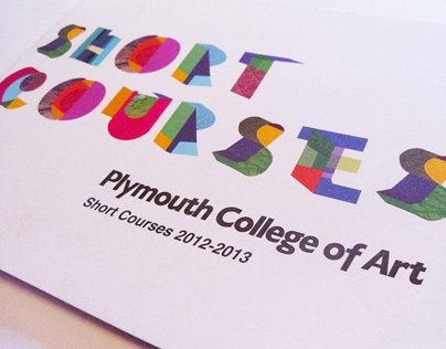 Plymouth College of Art - Short Courses Booklet