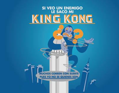 Mr. King Kong Mock Up