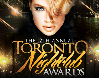 12th Annual Toronto Nighclub Awards Flyer
