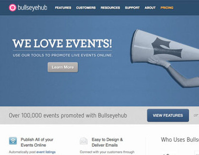 Bullseyehub website