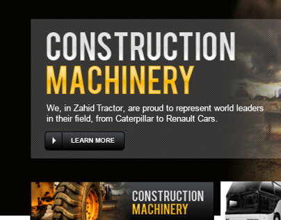 Website Design for Zahid group KSA