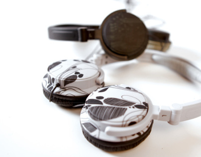 CARREFOUR Graphic Headphone