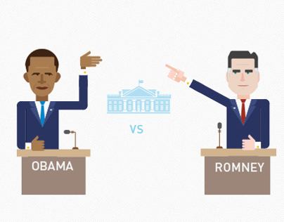 USA election infographics