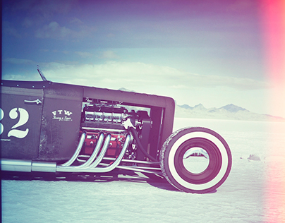 The Bonneville Salt Flat