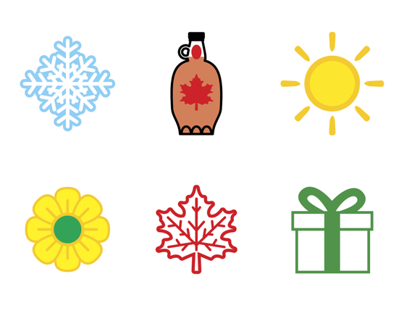 TRCA Watershed Icons