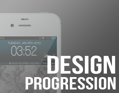 iPhone UI // Design Progression