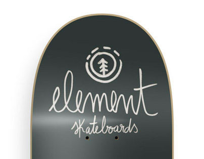 Element skateboards - Illustration