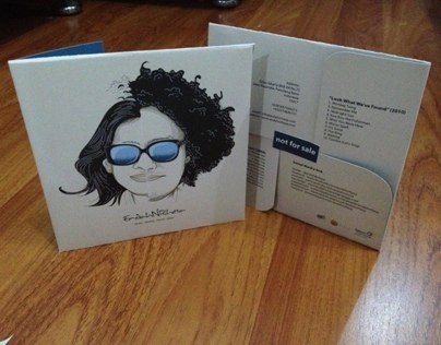 Endah N Rhesa CD artwork (not for sale)