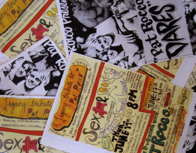Pat Rocco Film Screening Flyer
