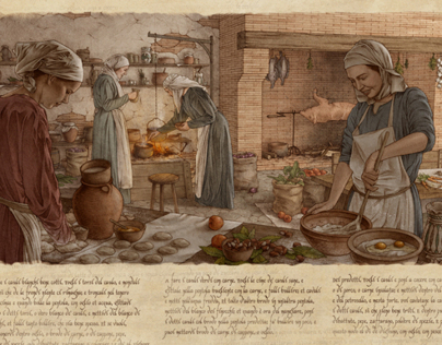 A Medieval Kitchen