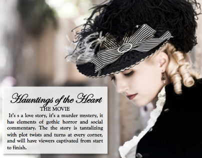 Hauntings of the Heart: A Feature Length Costume Drama