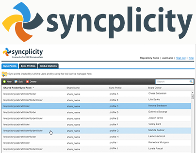 Syncplicity Connector for Documentum
