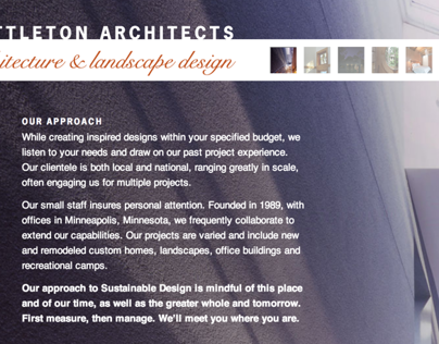 WEB: Sarah Nettleton Architects