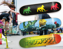 Iriewood skateboards (decks)