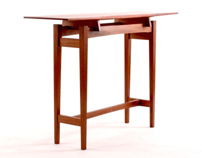 Mahogany Console Table