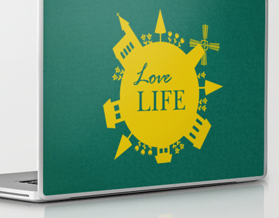 Love Life  - Laptop & iPad skin, Pillows, Bags
