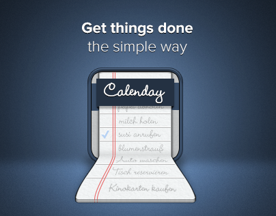 Calenday | Get Things Done The Simple Way