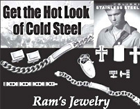Print advertisement for jewelry store