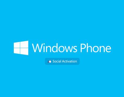 Windows Phone 8 - Social Activation