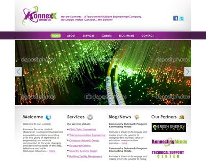 Konnexx Services Website