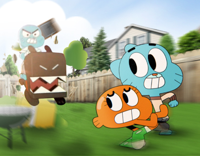 The Amazing World of Gumball: Backyard Bolt