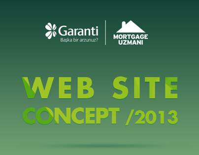 Garanti Mortgage Web Site Concept