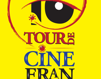 Cartel. Tour de cine frances.