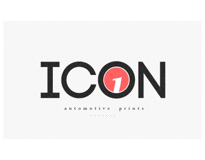 ICON.01 automotive prints