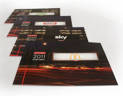 Primesight – Client Brochure Design Layouts