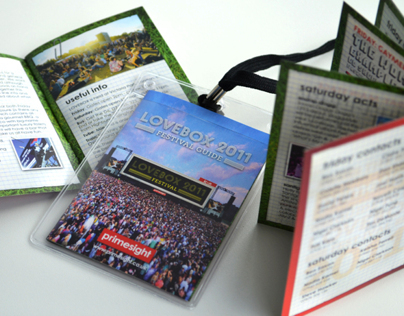 Lovebox Festival – Promotional Booklet Design