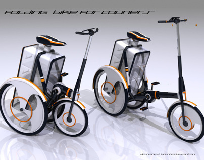 Folding Bike For Couriers