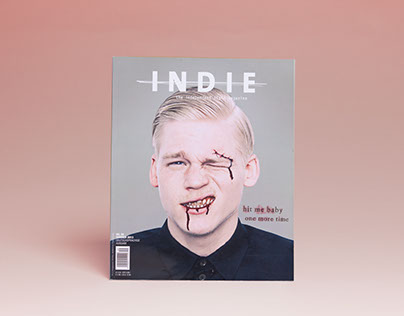 GRAPHIC DESIGN - INDIE MAGAZINE SUMMER ISSUE 39