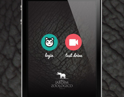 Layouts for Lisbon Zoo iPhone app