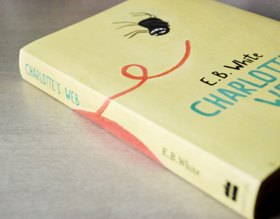 Charlottes Web Book Cover design