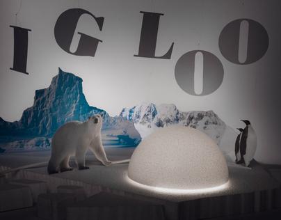 Igloo lamp