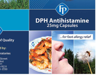 Federated Pharmaceutical - Brochure Design