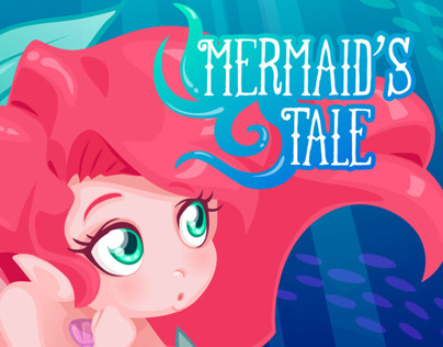 Mermaids Tale - comic cover