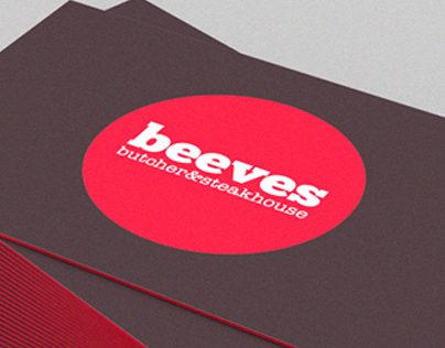 Beeves Butcher&Steakhouse - Corporate Identity