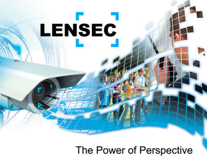 LENSEC Custom Brochure & Flash Presentation