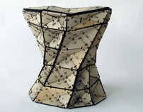 Triangles stool