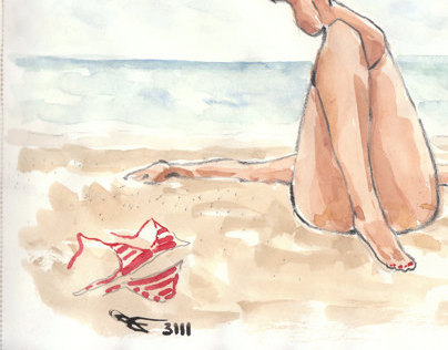 The Beach illustration