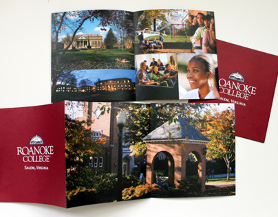 Roanoke College Admissions Poster