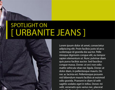 Urbanite Magazine Spread Concept