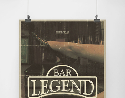 Legend Bar Poster