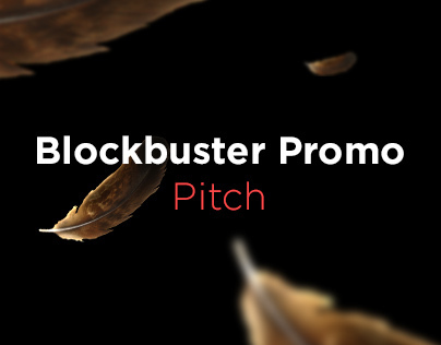 Blockbuster Promo Website Pitch