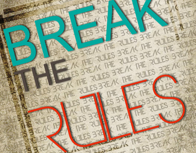 break the rules typography
