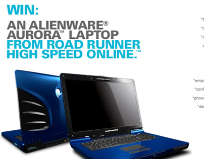 Road Runner Alienware Sweepstakes