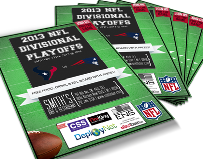 NFL Flyer Re-Design