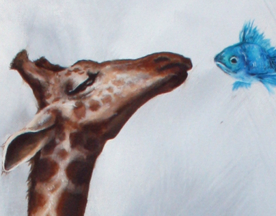 Giraffe and Fish
