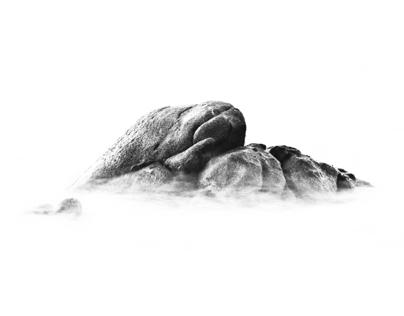 White and rocks II